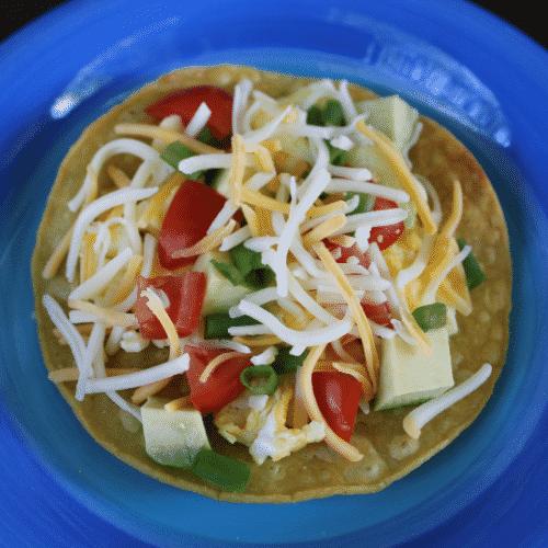 breakfast tostada