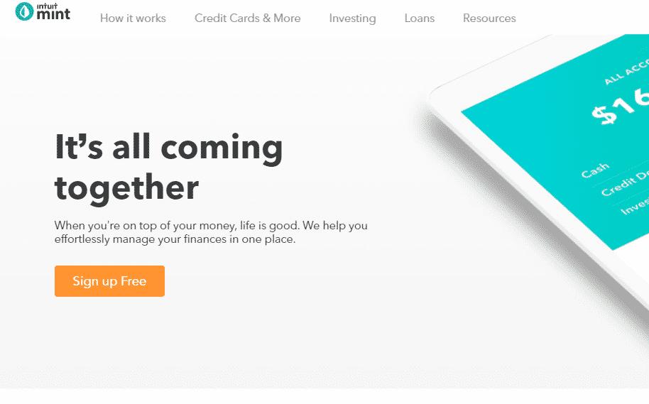 Mint.com tech tool