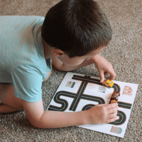 free printable roads for kids