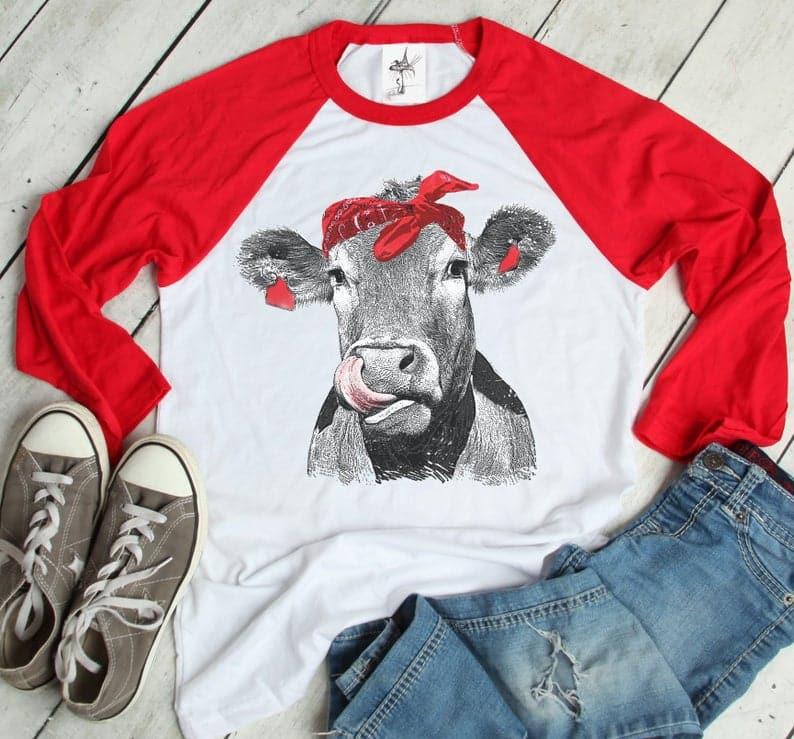 Cow t shirt