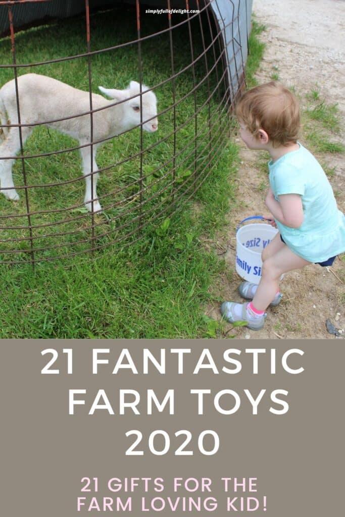 21 Fantastic Farm Toys 2020 - 21 Gifts for the Farm loving kid!