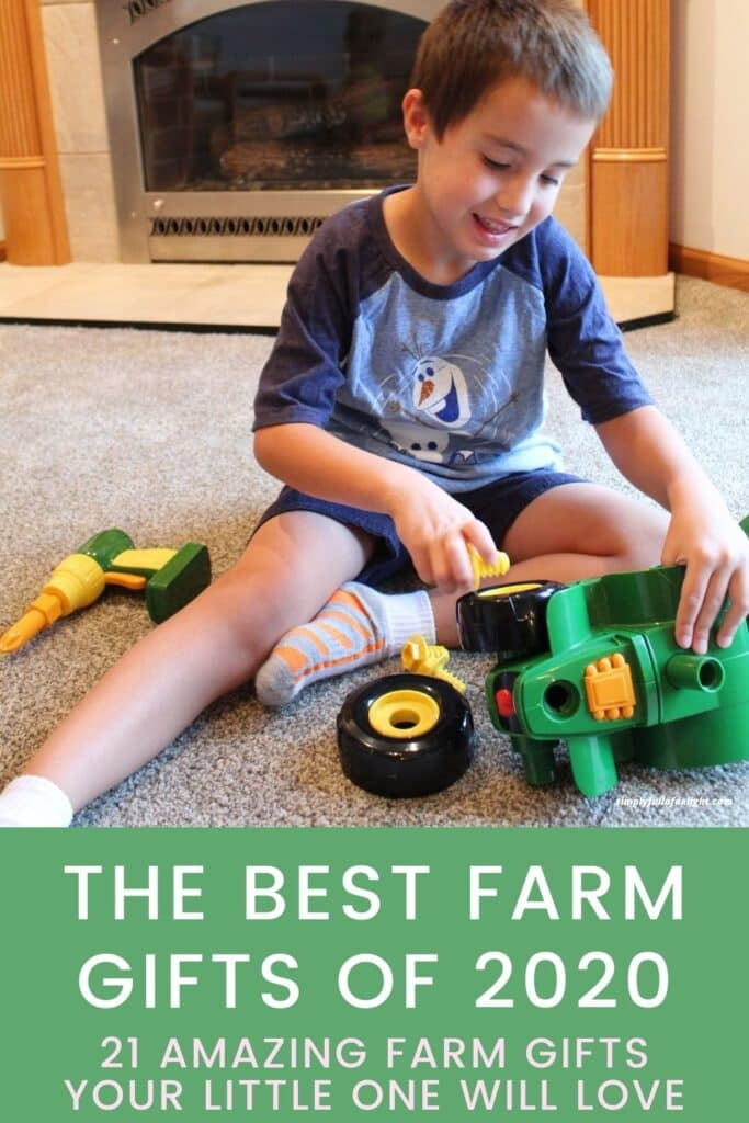 The Best Farm Gifts of 2020 - 21 amazing farm gifts you little one will love