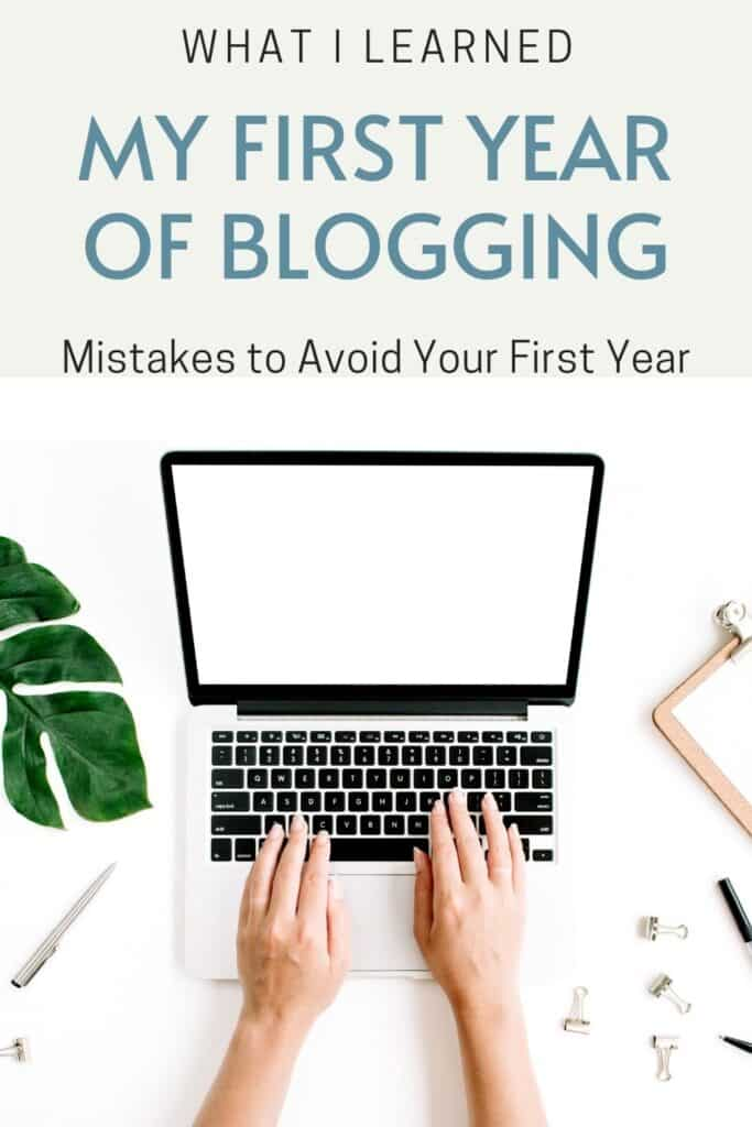 What I learned My First Year Of Blogging - Mistakes to Avoid Your First Year