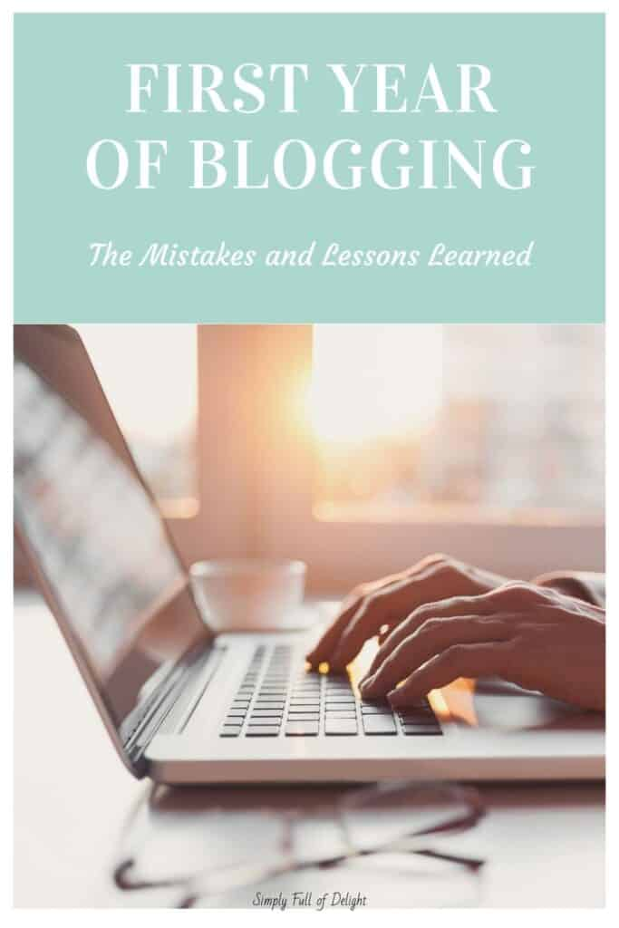 First Year of Blogging - The Mistakes and Lessons Learned
