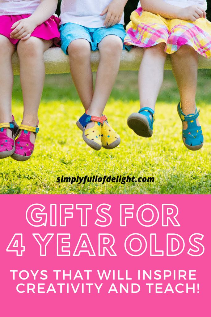 Gifts for 4 year olds - Toys that will inspire creativity and teach