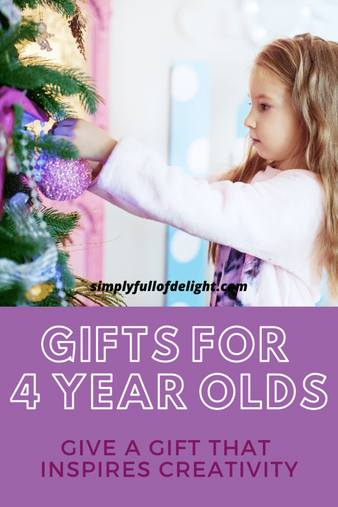 Gifts for 4 Year olds - Give a Gift that inspires!