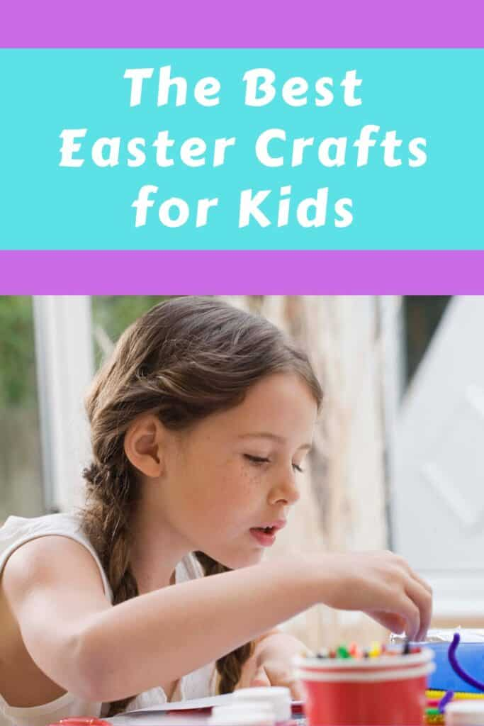 The Best Easter Crafts for Kids - 12 Easter themed ideas your kids will love!   #eastercrafts #easter #craftsforkids #crafts