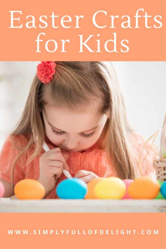 Easter Crafts for Kids  - 12 Fun craft ideas for Easter for your kids!  Some are simple 5 minute activities and others can span days!  Find something perfect for your family fun time!  #easter #crafts #eastercrafts #easteractivities