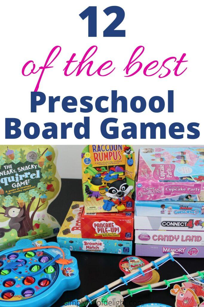 12 of the Best Preschool Board Games
