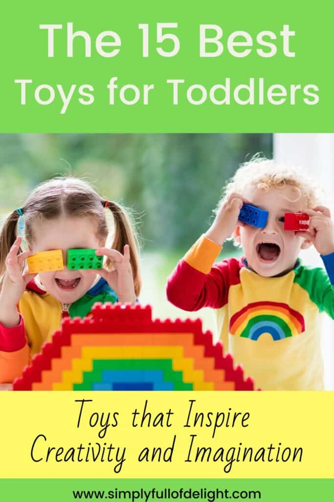 The 15 Best Toys for Toddlers, Gifts for Toddlers that inspire learning, creativity, and imagination