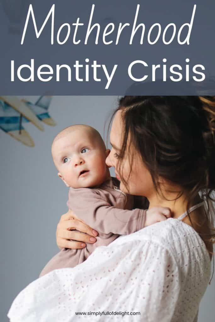 The Stay at Home Motherhood Identity Crisis - Finding yourself in the midst of a new role in life