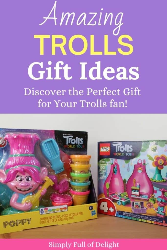 Amazing Trolls Gift ideas - Discover The Perfect Gift for Your Trolls fan!