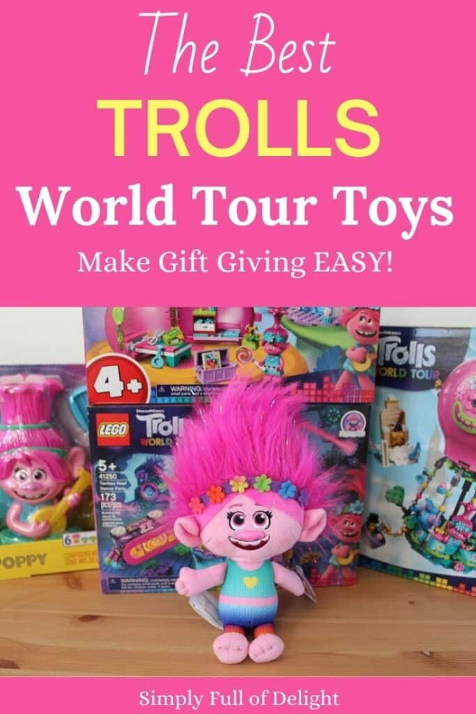 The Best Trolls World Tour Toys - Make gift giving easy with these amazing gift ideas for your Trolls fan!