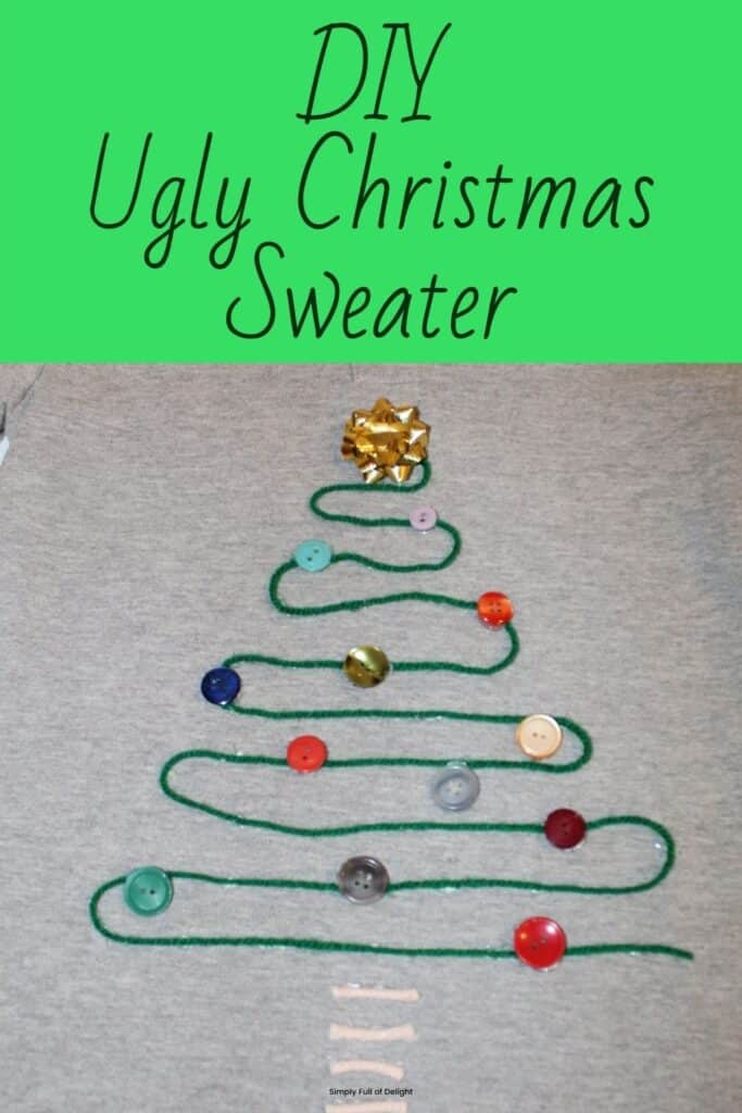 Do It Yourself Ugly Christmas Sweater