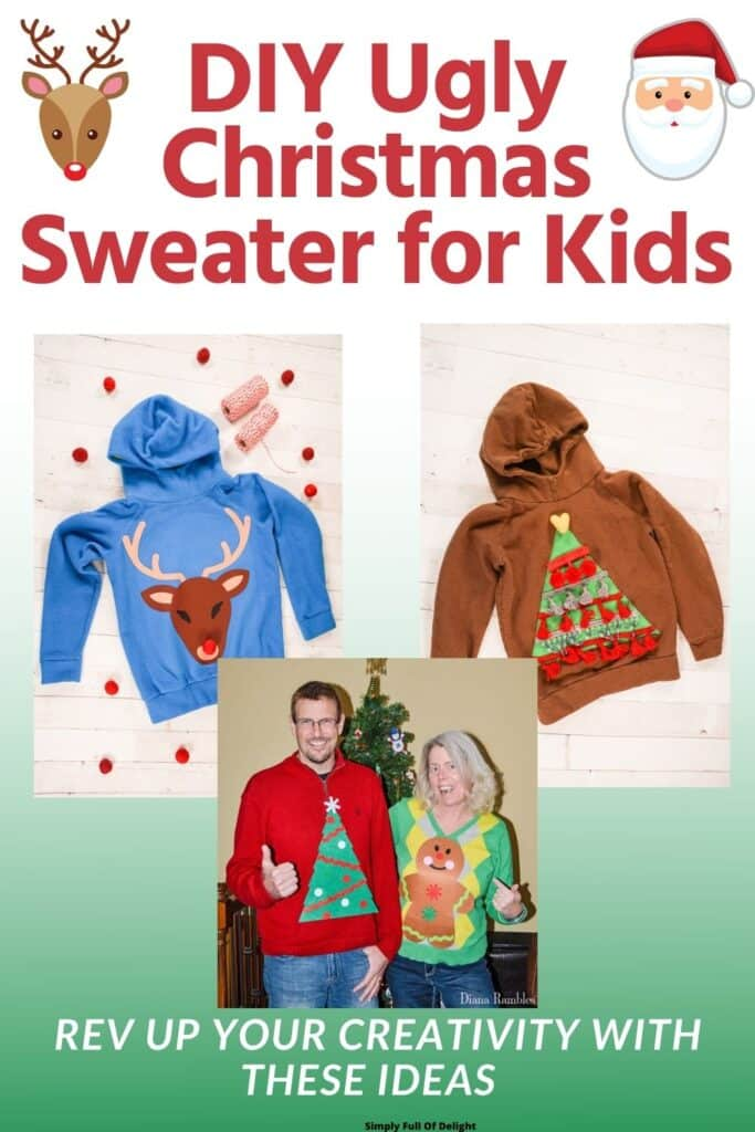 DIY Ugly Christmas Sweater for Kids, Rev up your Creativity with these Ideas