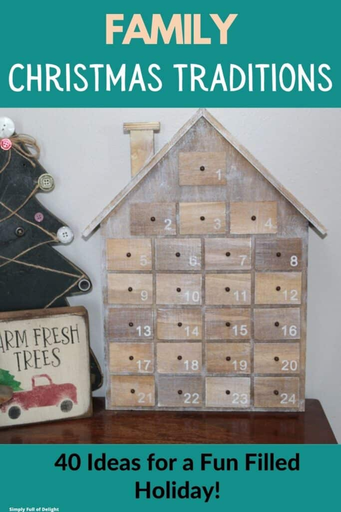 Family Christmas Traditions - 40 Ideas for a Fun Filled Holiday!