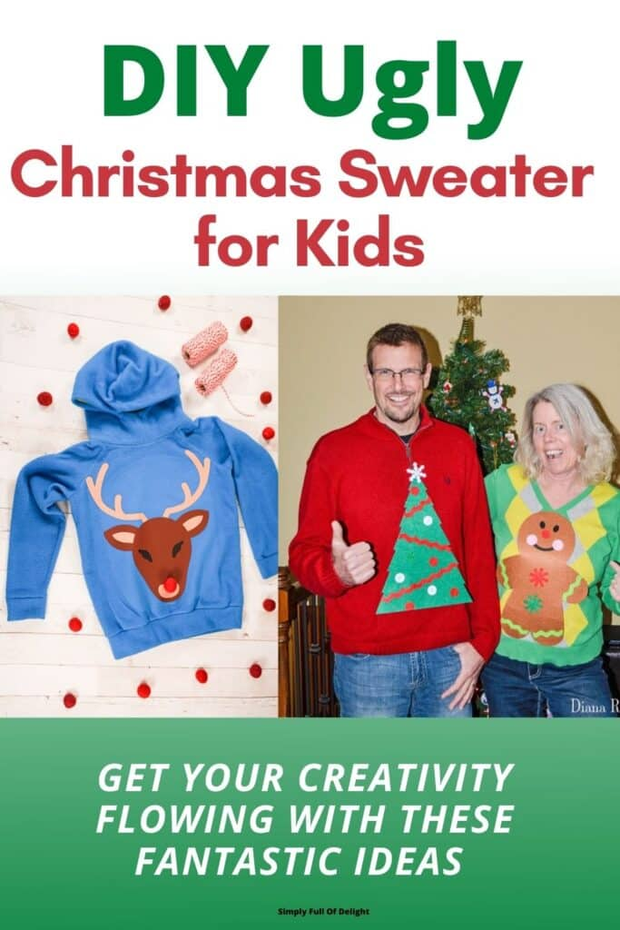 DIY Ugly Christmas Sweater for Kids, Get your Creativity flowing with these fantastic ideas!