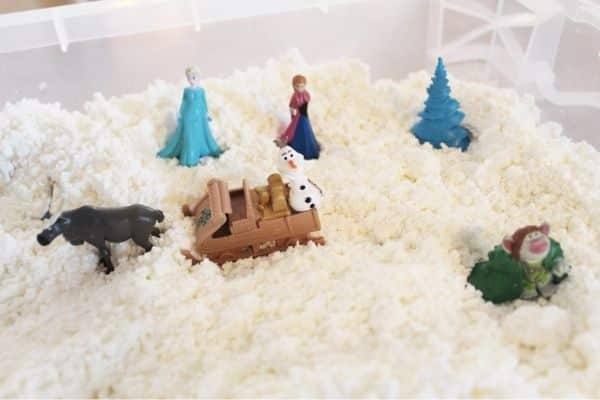 How to make fake snow at home