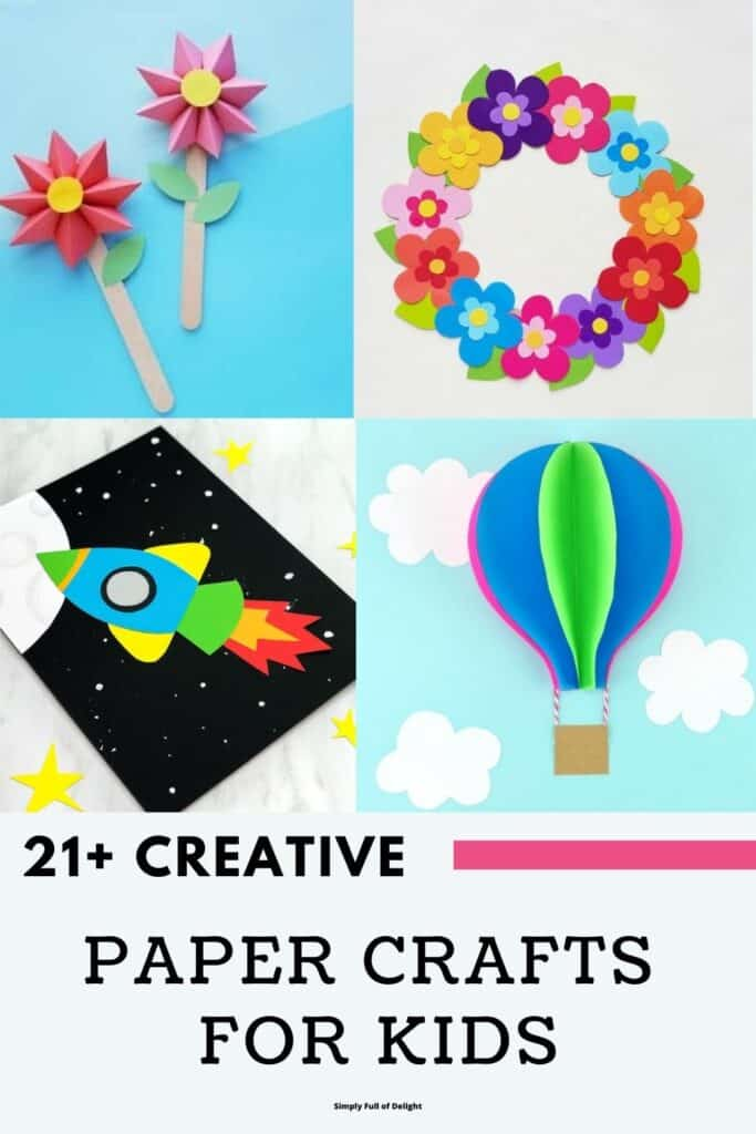 21+ Paper Crafts for Kids - Discover amazing paper craft ideas for kids!
