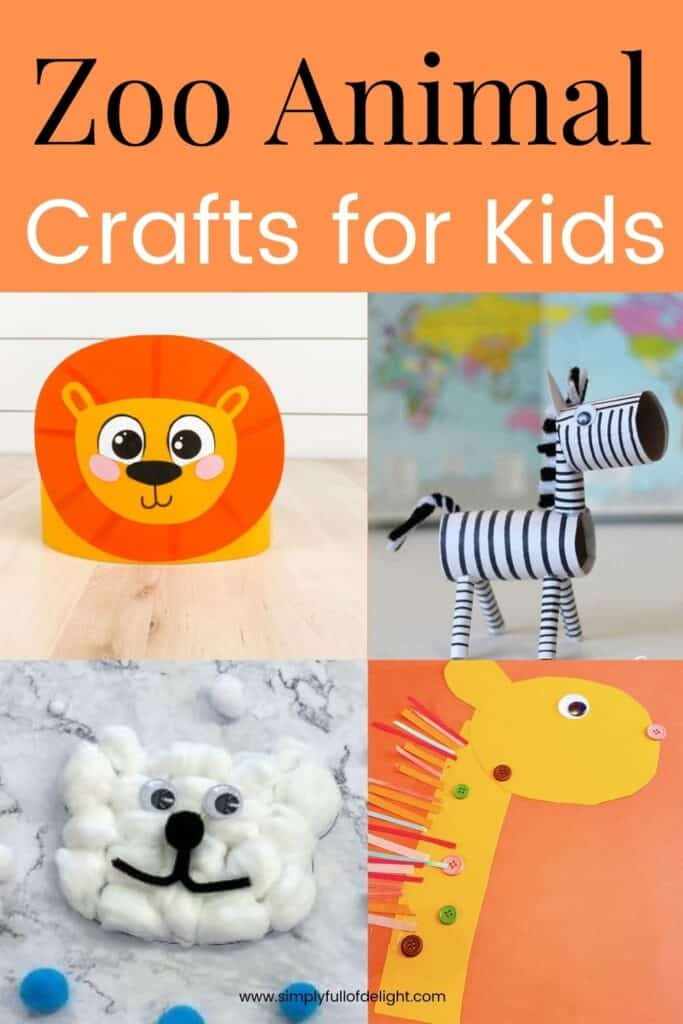 Zoo Animal Crafts for Kids