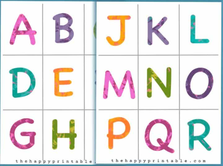 alphabet flash cards - What fun ways to teach the alphabet!