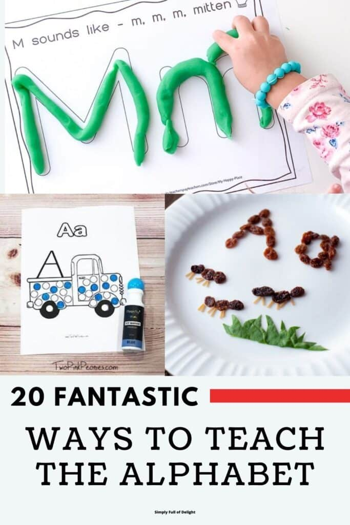 20 Fantastic ways to teach the Alphabet