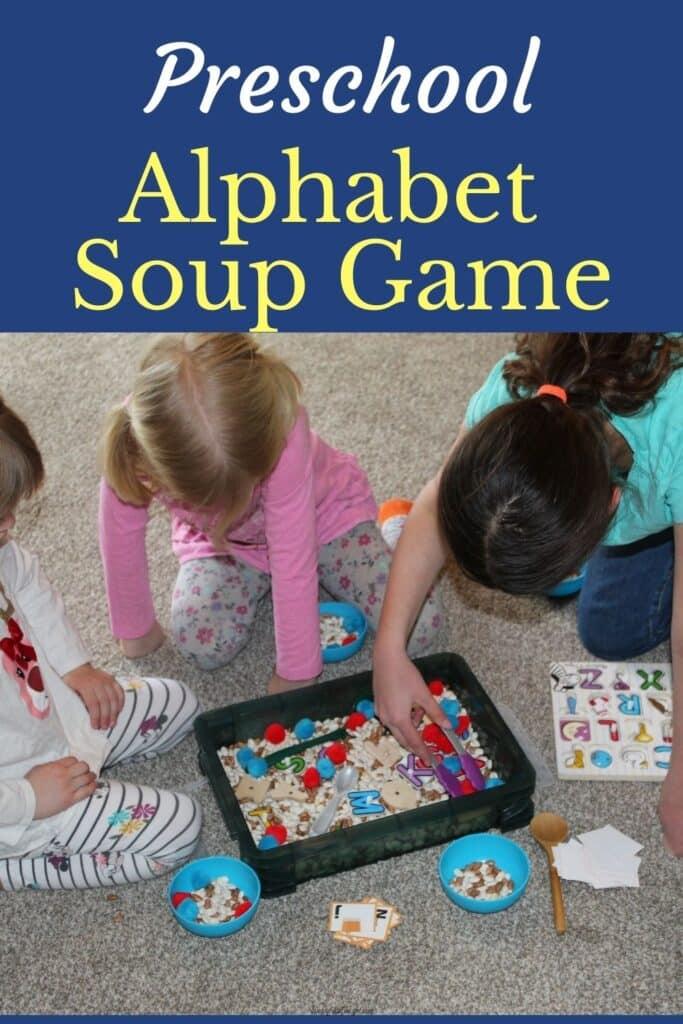 Preschool Alphabet Soup Game