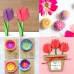 mother's day flower crafts for kids