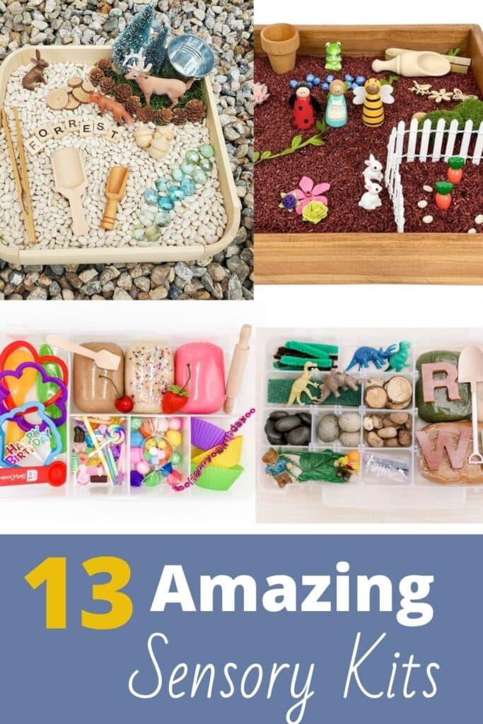 13 Amazing Sensory Kits - Awesome Premade Sensory Bins from Etsy