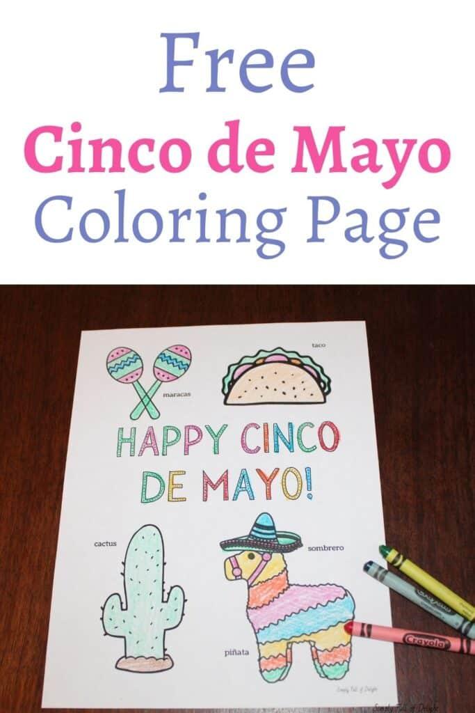 Free Cinco de Mayo Coloring Page