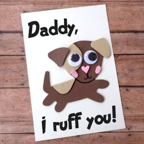 diy  dog fathers day card by The Inspiration edit