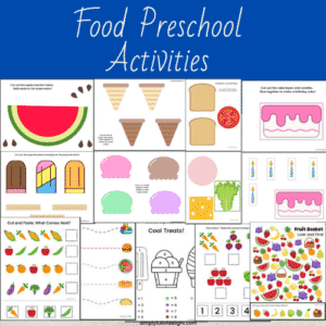 food preschool activities
