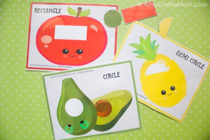 Fruit Themed Shape Match