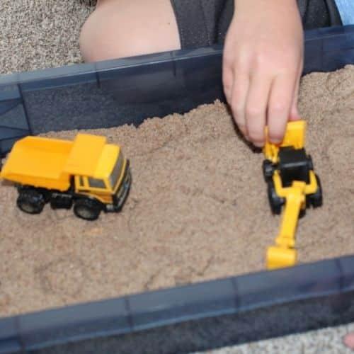 kinetic sand activities
