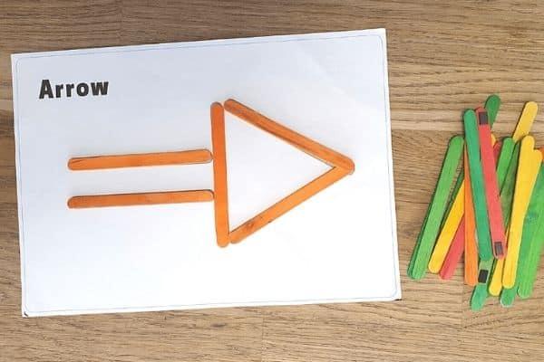 craft stick shape mats