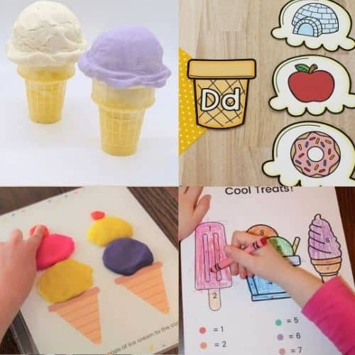 ice cream activities for preschool