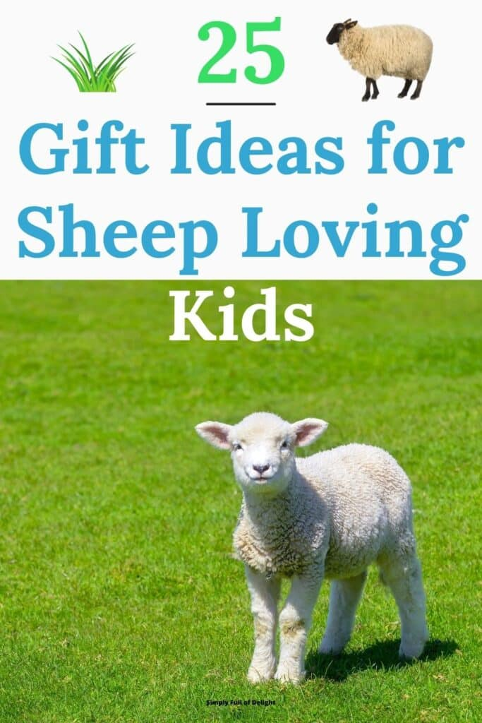 25 Gift Ideas for Sheep Loving Kids - discover the Best sheep toys and gifts for kids and give the perfect gift!