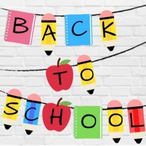 Back to school nanner by All about Baby Blog
