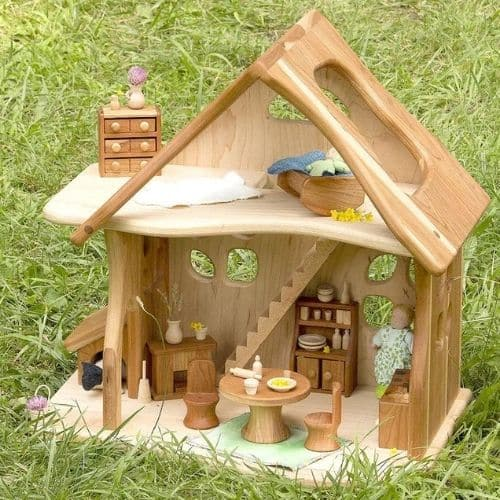 Fairy Country Cottage Dollhouse by PalumbaCamdenRose