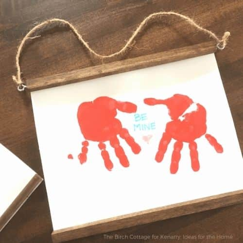DIY Dowel Rod Frames for Children's artwork by Ideas for the home by  Kenarry®