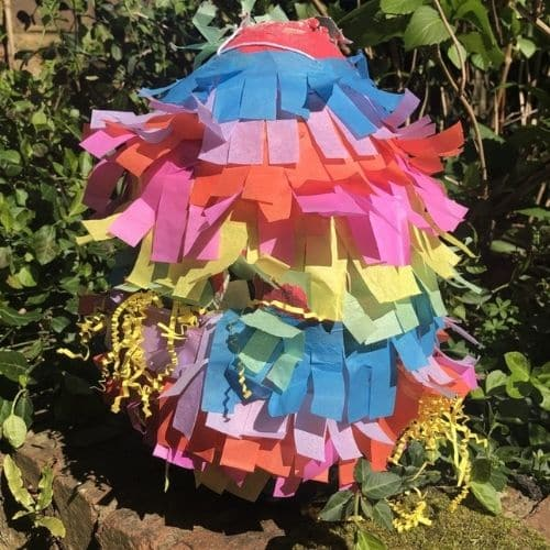 make your own piñata with In the Playroom